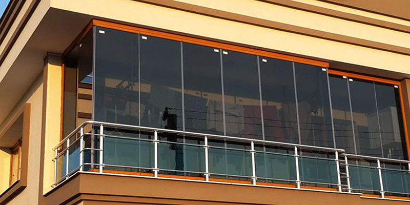 Katlanır Cam Balkon Sistemleri