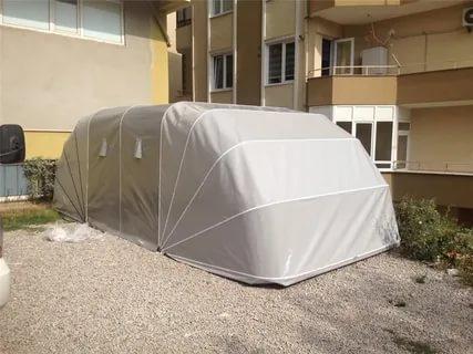 Garajlarda Kullanılan Otomatik Tenteler